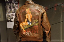 Wartime brown leather jacket
