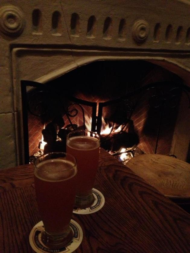Fireplace at SideDoor