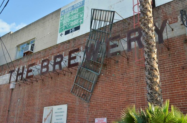 Brewery Art Walk - Exploring the Buildings