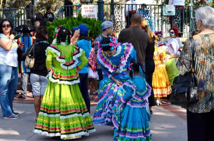 Costumes at the Plaza