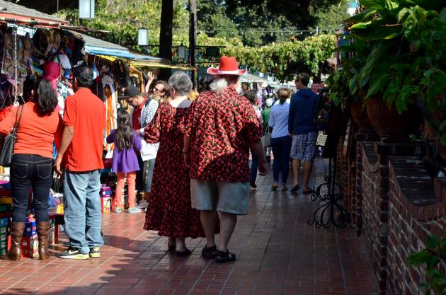 Costumes of Olvera Street