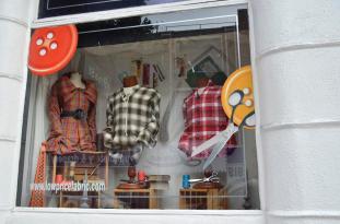 Michael Levine's store window