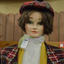 Mannequin heads (5)