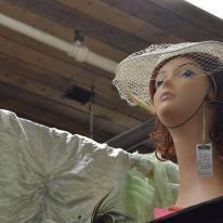 Mannequin heads (8)