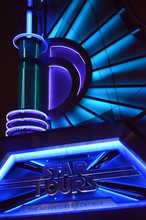 Practicing Nighttime Photography at Disneyland