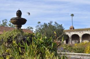Landing at the Mission Fountain (3)