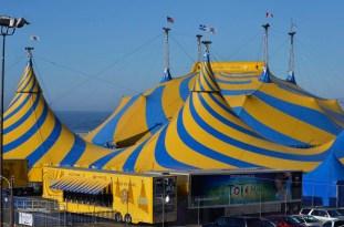 Cirque Du Soleil is in town