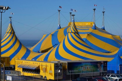 Cirque Du Soleil is in town