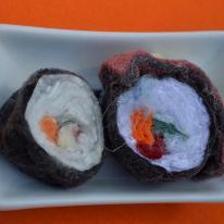 Lint sushi rolls