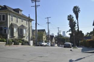 Downtown L.A. so close
