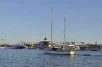 Crossing Newport Bay