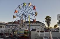 Ferris wheel in the Fun Zone
