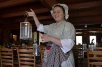 The sweet waitress