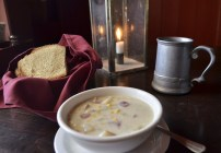 Delicious corn chowder