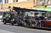Filming Car Scene (2)