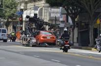 Filming Car Scene (3)