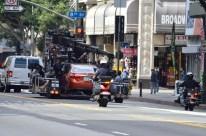 Filming Car Scene (4)