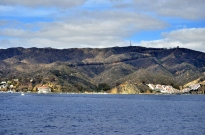 Approaching Catalina with Casino on the left