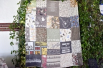 Quilt made by art students