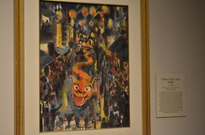 Chinese art exhibit