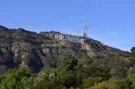 World famous Hollywood sign