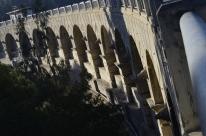 Lower side of Mulholland Dam