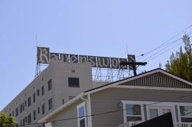 """Old sign """"Ravenswood"""""""