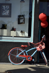 Bicycle as decor