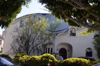 House shaped like seashell (?)