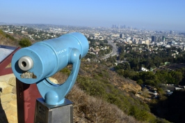 Lookout stop on Mulholland Drive