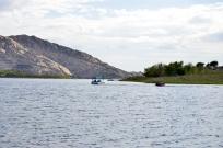 Pontoon Boating on Lake Perris (13)