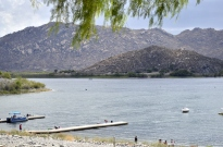 Pontoon Boating on Lake Perris (2)