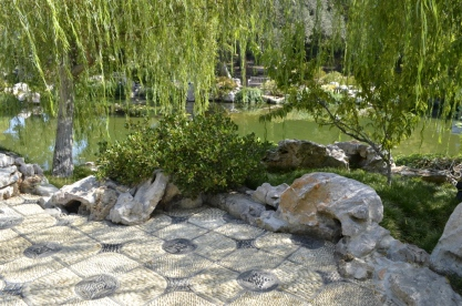 Hot Afternoon, Cool Garden Paths (1)