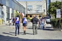 Police escort for RedBull