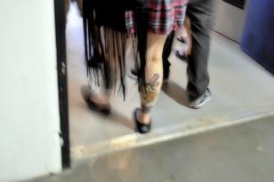 Walking tattoo