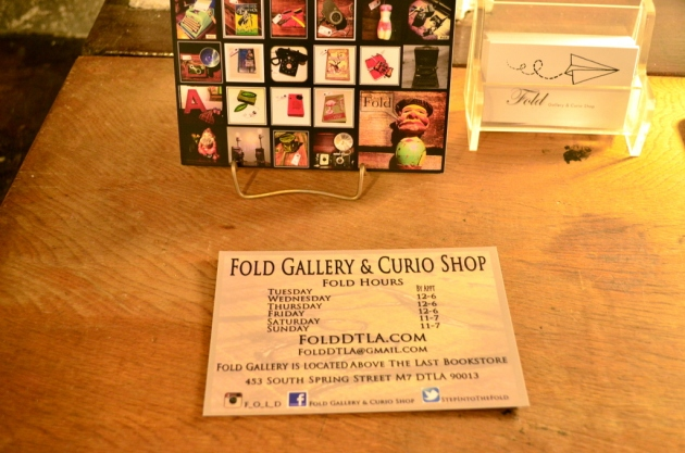 Fold Gallery and Curio Shop at The Last Bookstore (3)