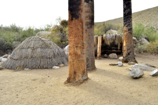 Replica of Agua Caliente Cahuilla Indian village