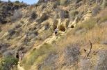 Fellow hikers exploring the rocks