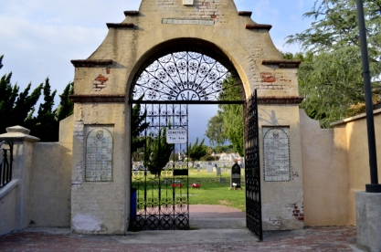 Gate to the cemetary