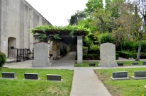 Graveyard behind the gates