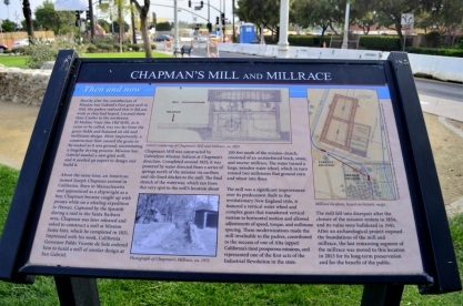 Information about the old millrace