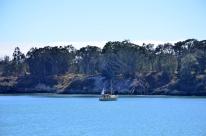 San Simeon harbor