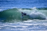 Riding inside the wave at Cambria