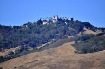 Hearst Castle high on the hill