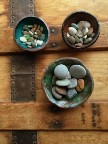 Tiny pebbles from Cambria