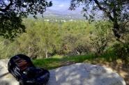HOPE rock above Descanso Gardens