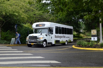 Shuttle throughout Washington Park
