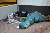 Homeless seem to be in every city