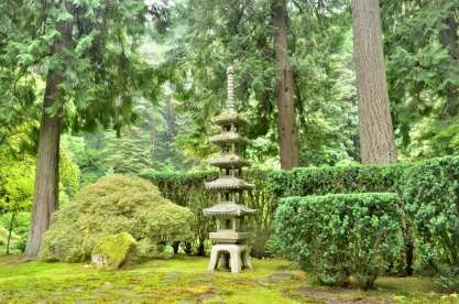 Portland's Japanese Garden, part 1 (9)