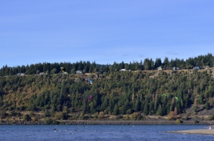 Parasailing Oregon's Columbia River Gorge (10)